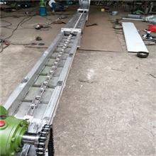 SG150不銹鋼單板鏈刮板輸送機,蘇打粉刮板上料機