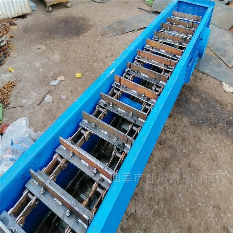 稻谷刮板式输送机,轻型皮带式刮板送料机