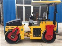 双钢轮压路机YZC303