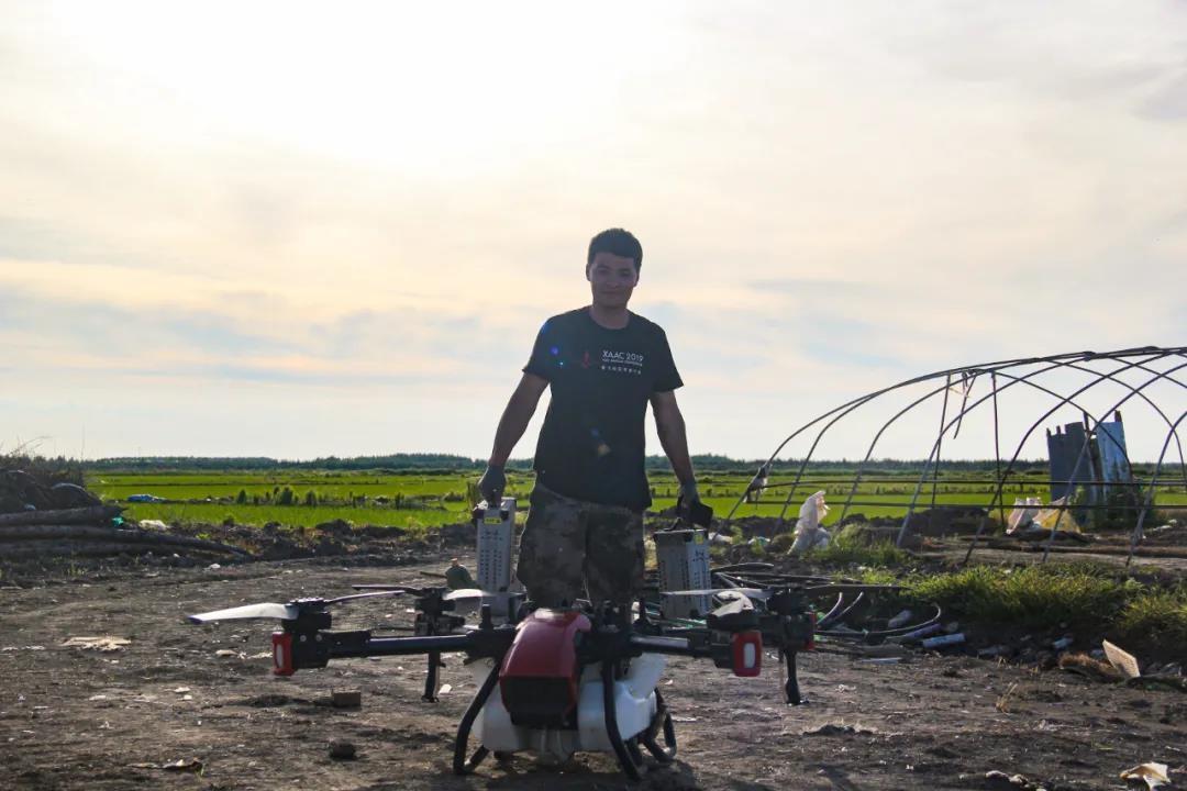 夏季稻田要除草,極飛用戶有妙招?